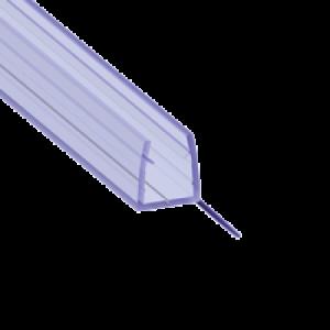 135° Уплотнитель силиконовый, между полом и дверью